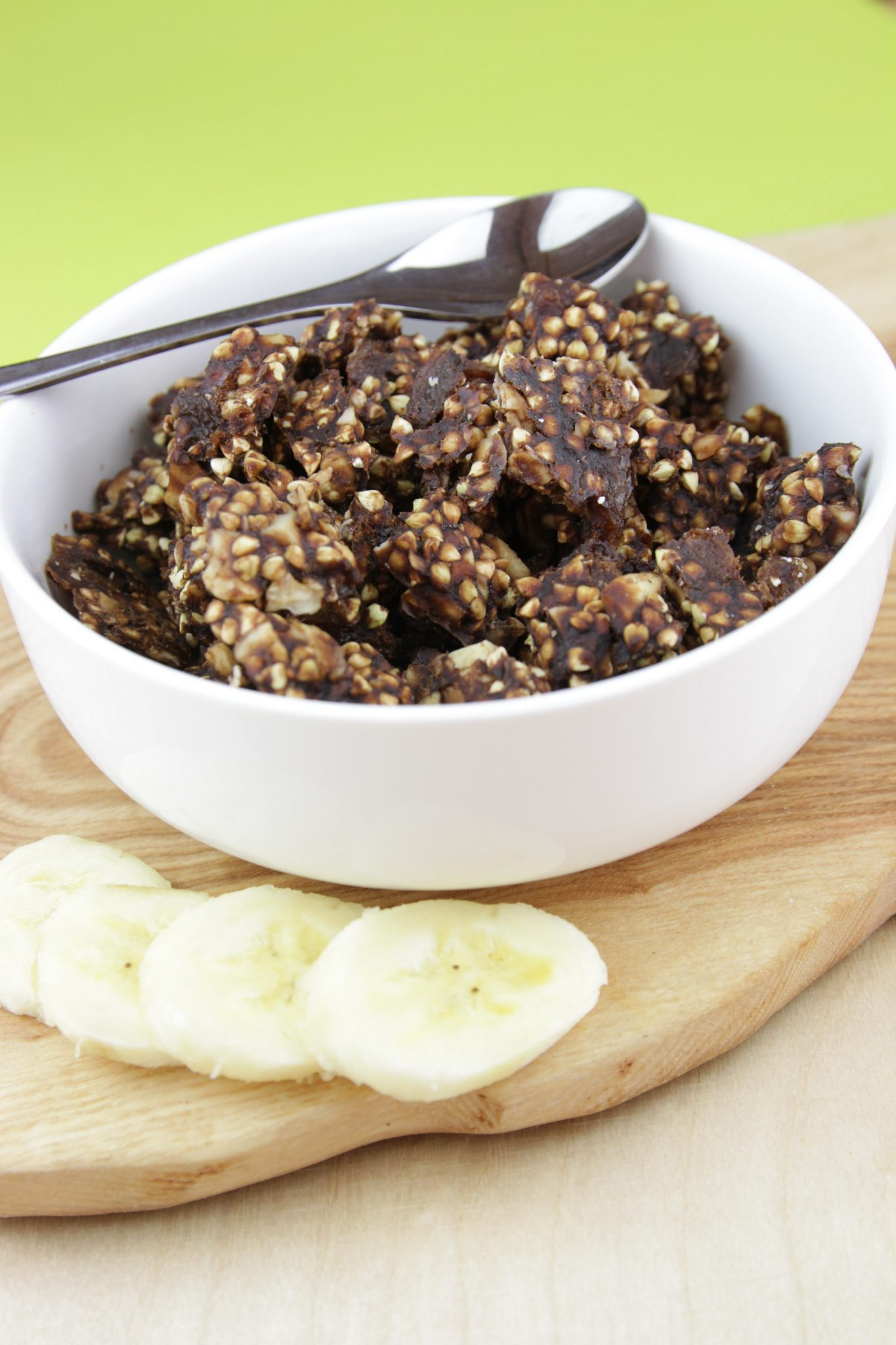 krunola cacao cru banane qualit crue petit d jeuner 280 g biosaine cuisine. Black Bedroom Furniture Sets. Home Design Ideas